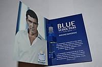Пробник мужской туалетной воды Antonio Banderas Blue Seduction for Men 1.5ml