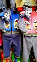 Теплый детский костюмчик Mickey