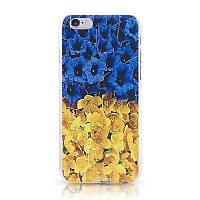 Чехол-накладка UkrCase iPhone 5 Ukraine квіти