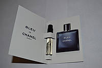 Пробник мужской туалетной воды Chanel Bleu de Chanel 2ml