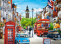 Пазлы Улочки Лондона, 1500 элементов Castorland С-151271