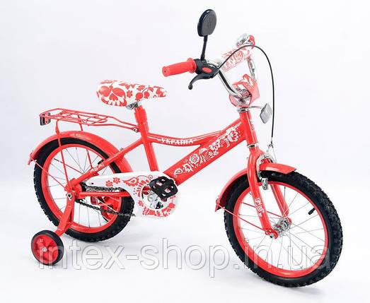Детский велосипед 16 дюймов Украина 151608, фото 2