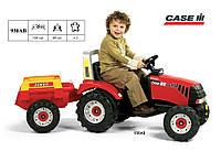 Детский трактор на педалях Falk 930AB CASE III