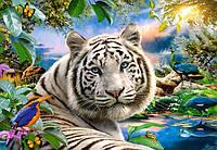Пазлы Белый тигр, 1500 элементов Castorland С-151318