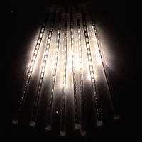 Гирлянда Метеоритный дождь «Тающие Сосульки» LED, 70 СМ тепло белый свет 3м