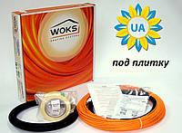 Электрический теплый пол под плитку Кабель нагревательный Woks 10-250 27,0 м