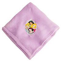 Флисовый плед Принцессы Диснея 152х127 см Оригинал DisneyStore