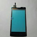 Сенсорний екран Lenovo A1000 чорний, фото 2