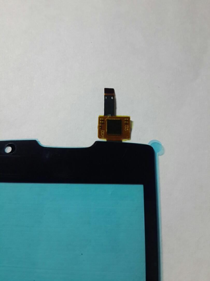 Сенсорний екран Lenovo A1000 чорний