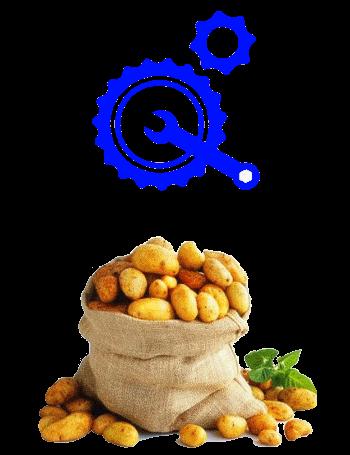 Запчасти для картофелеуборочных комбайнов