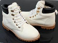 Женские ботинки ANASTAZJA white, фото 1