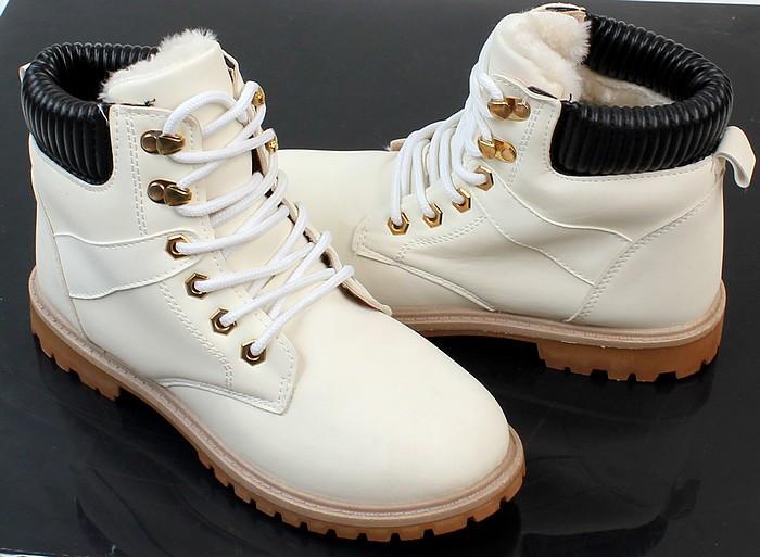 Женские ботинки ANASTAZJA white