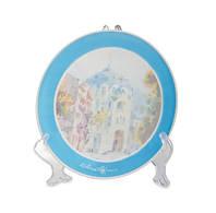 Тарелка сувенирная, керамическая, диаметр 20 см.