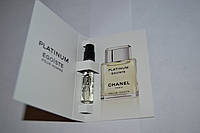 Пробник мужской туалетной воды Chanel Egoiste Platinum 2ml