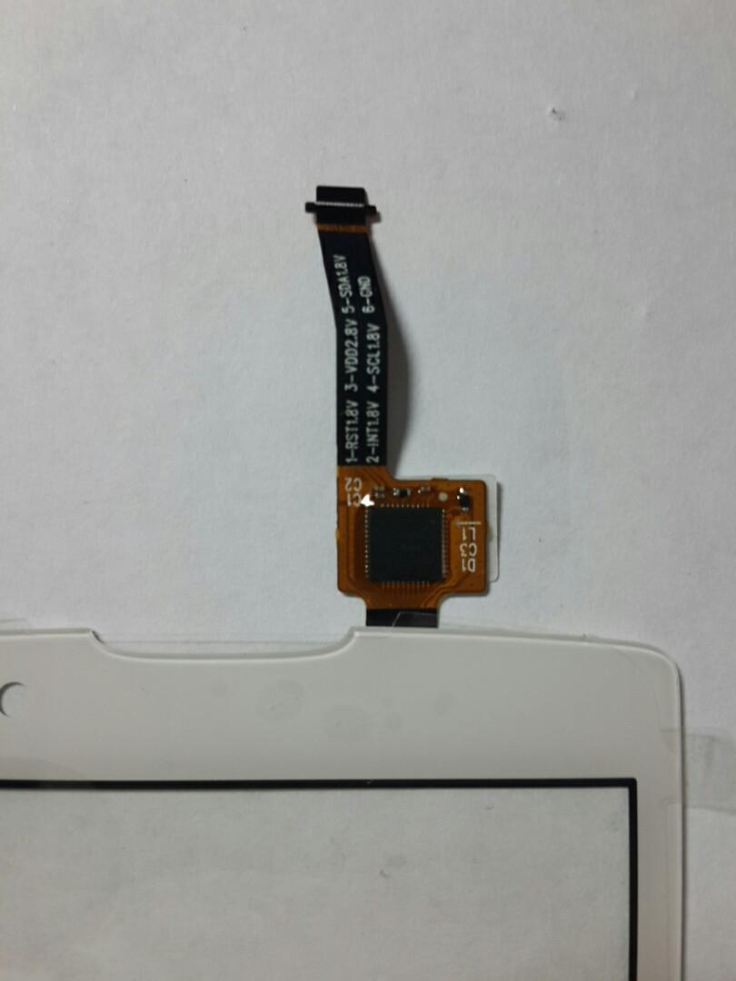 Сенсорний екран Lenovo A2010 білий
