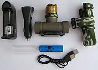Налобный фонарик Police Bailong BL-6866, 15000W