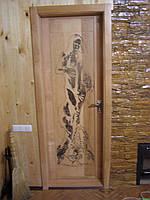 Двери с девушкой