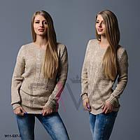 Осенний свитер женский W11-537-3
