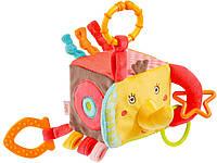"""Подвесная игрушка - развивающий куб """"Слоненок"""" Fehn 74253 (74253)"""