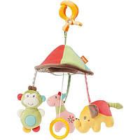 """Fehn подвесная игрушка - развивающая пирамидка """"Сафари"""" 74536 (74536)"""