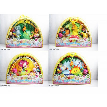 Развивающий коврик для новорожденных 518-02/3/4/6 , фото 2