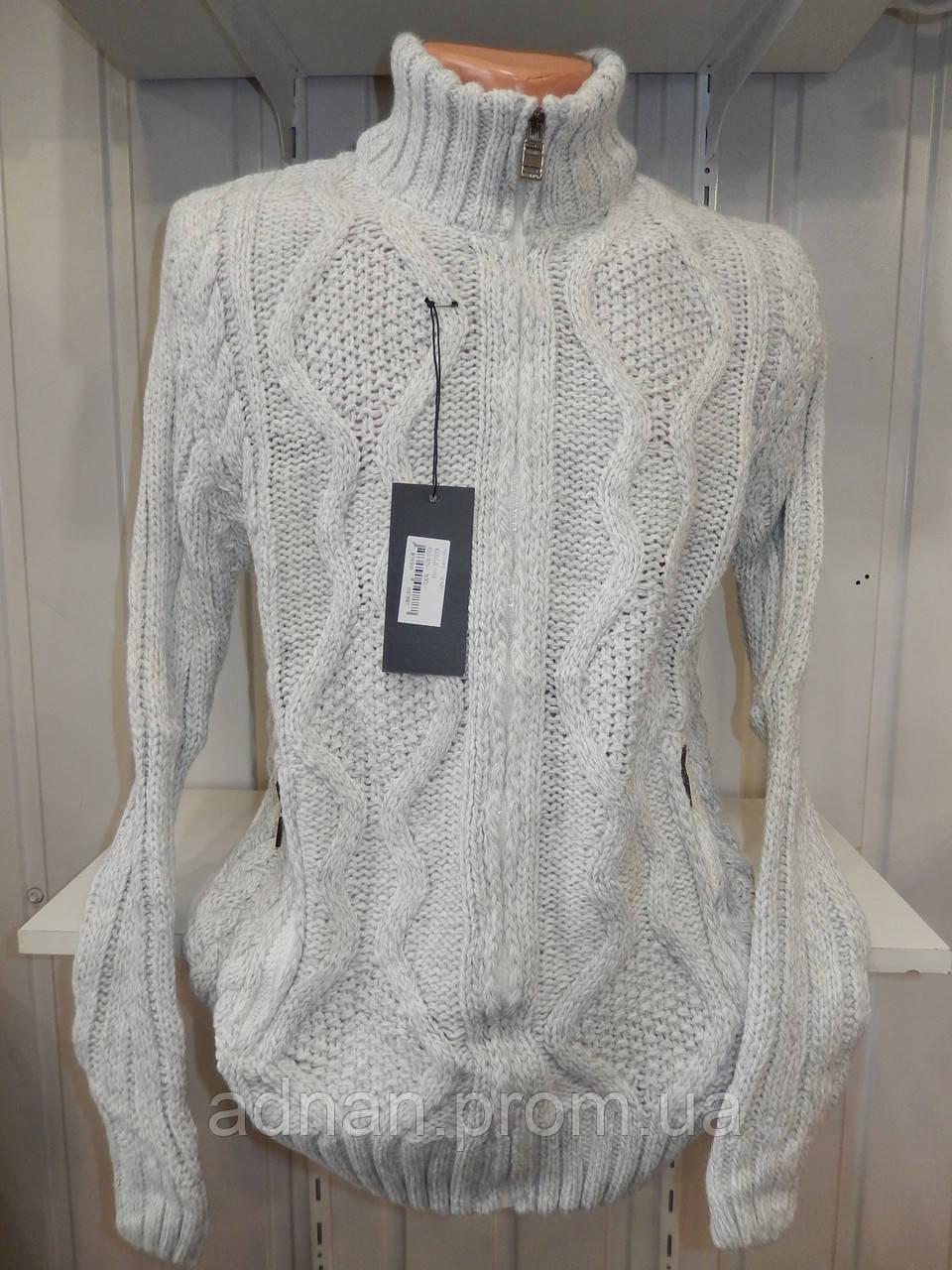 Кофта мужская Lee'Ecosse на змейке, 2 кармана 003/ купить оптом свитер зимний