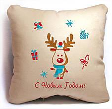 """НОВОГОДНЯЯ ПОДУШКА """"Merry Christmas"""" 32"""