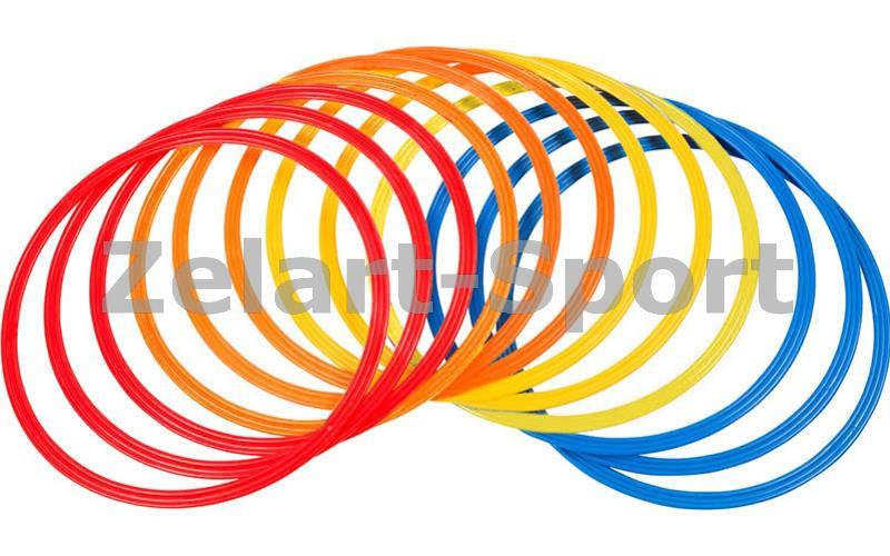 Кольца тренировочные C-4602-70 (пластик, d-70см, в комплекте 12шт.) - Интернет-магазин Sport2012 в Днепре
