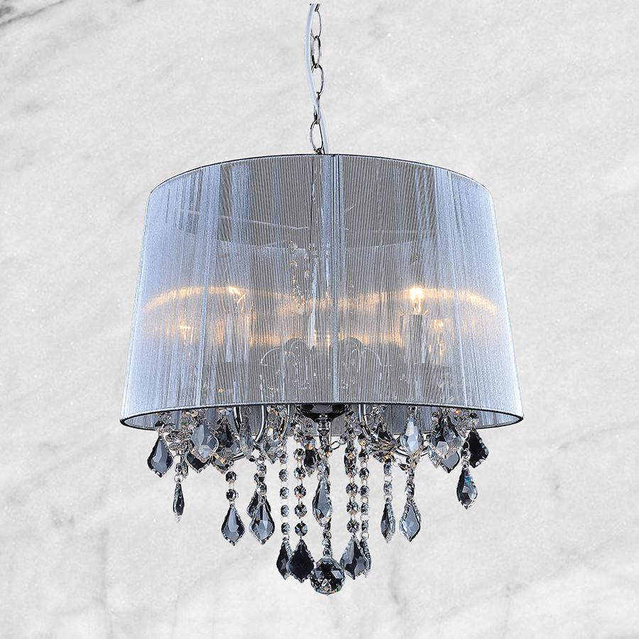Люстра в классическом стиле (20-5005WH-5 серебро)