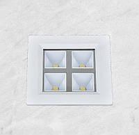 Светодиодный LED точечный врезной светильник 4W (28-BBWY4W теплый)