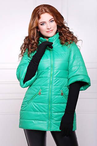 Женская демисезонная куртка LISSI зеленая, р.44, фото 2