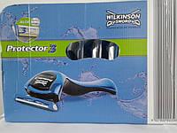 Набор станков и картиджей  Wilkinson Sword Protector 3 15 станков Протектор 3 + 8 упак. картиджей по 4 шт.   , фото 1