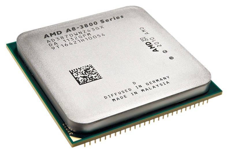 "Процессор AMD A8 3870K FM1 3.0GHz Б/У ""Over-Stock"""
