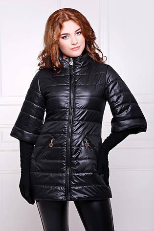 Женская демисезонная куртка LISSI черная, р.44,46, фото 2