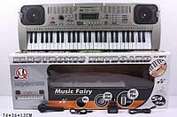 Детский пианино синтезатор MQ-807USB, 54 клавиши
