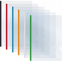 Папка А4 Economix з планкою-затиском 15 мм (2-95аркушів)