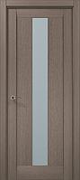 """Двери межкомнатные Папа Карло """"Milenium ML-01"""" дуб серый брашированный"""