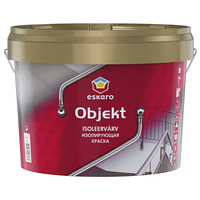 Краска интерьерная пятно изолирующая для перекрашивания ранее окрашенных поверхностей Objekt Eskaro 0,9л