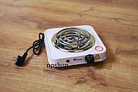 Плита электрическая переносная 1000W электроплита