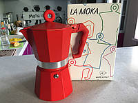 Гейзерная кофеварка LA MOKA  6 чашек, фото 1