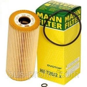 Масляный фильтр на VW LT 1996>, Crafter 2006> 2.5 TDI — MANN — HU726/2X