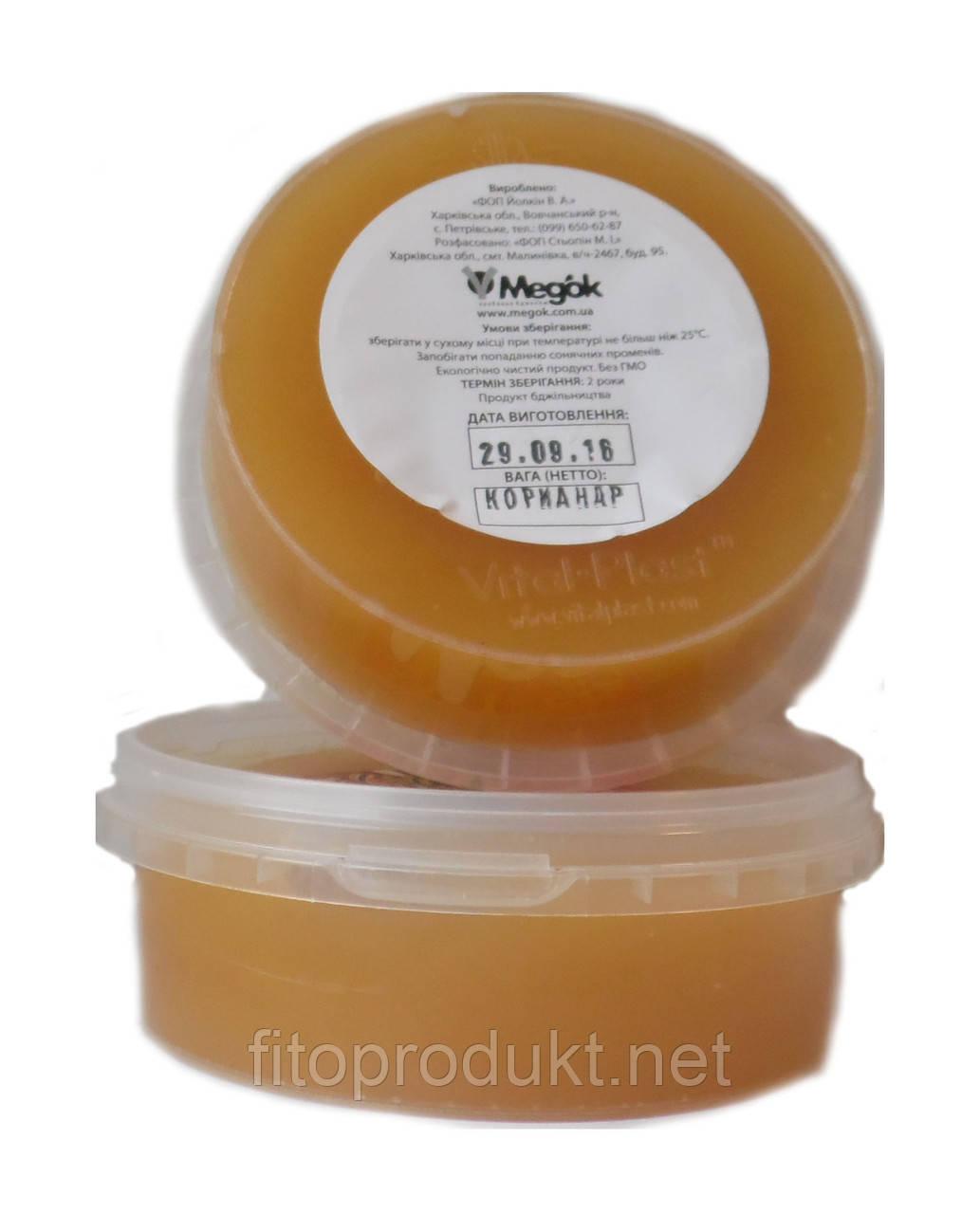 Мед цветочный Кориандр от компании Медок, 200 г