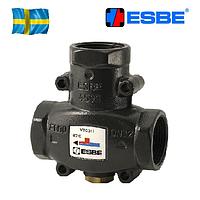 ESBE антиконденсационный трехходовой смесительный клапан VTC512 G 1 1/2' 55°С