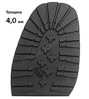 Подметка резиновая BISSELL, art.RB517, т. 4 мм, цв. чёрный