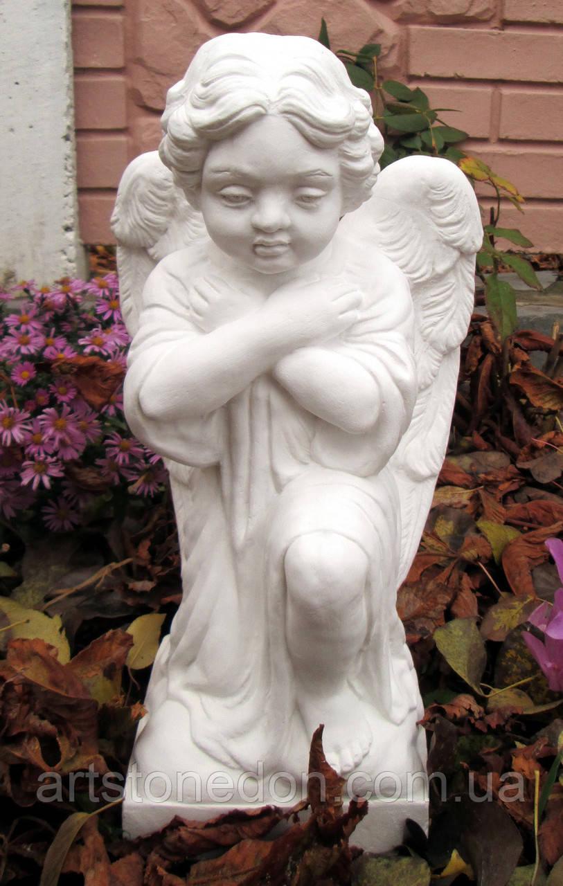 Ангел ритуальный со скрещенными руками 40 см