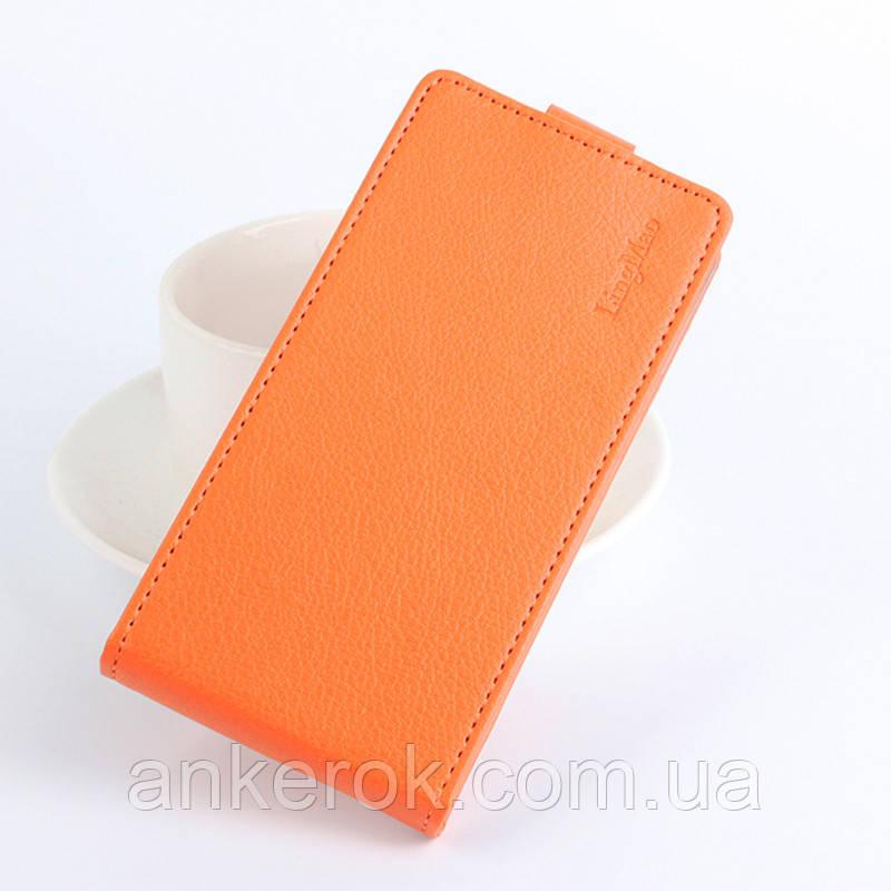 Фліп-чохол LingMao для Meizu M3 Note (Orange)