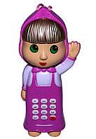 """Телефон игрушечный """"Маша"""" со звуковыми эффектами"""