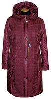 Куртка женская Батал 10-014 - вишня: 64,66