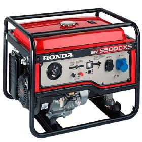 Снижены цены на генераторы HONDA