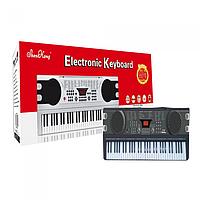 Детский синтезатор,61 клавиша.от сети
